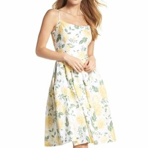 Gal Meets Glam Abigail Painted Aster Sundress